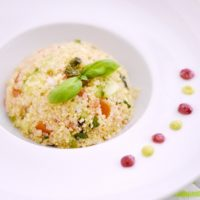 French quinoa salad