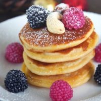 French healthy pancakes